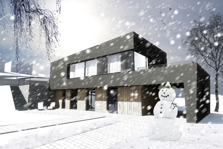 Rodinný dom Snehuliak