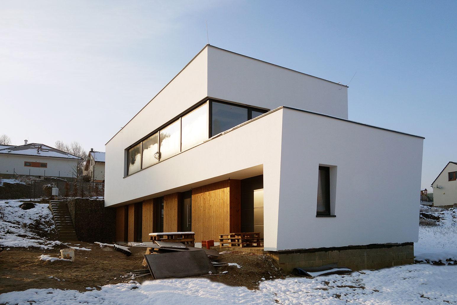 Rodinný dom Snehuliak - dom vo svahu
