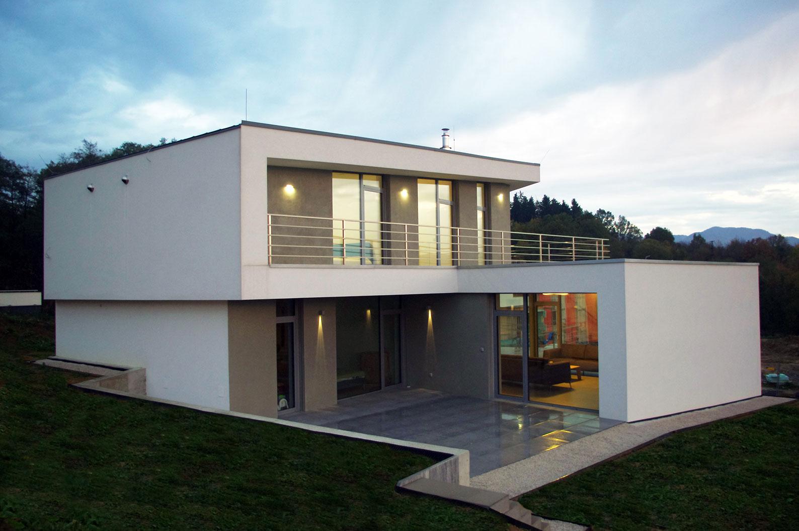 Rodinný dom Zlom - dom vo svahu Žilina