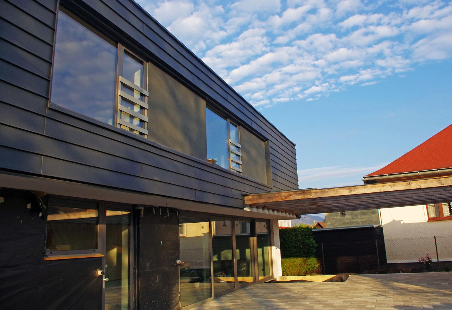 Rodinný dom so sedlovou strechou
