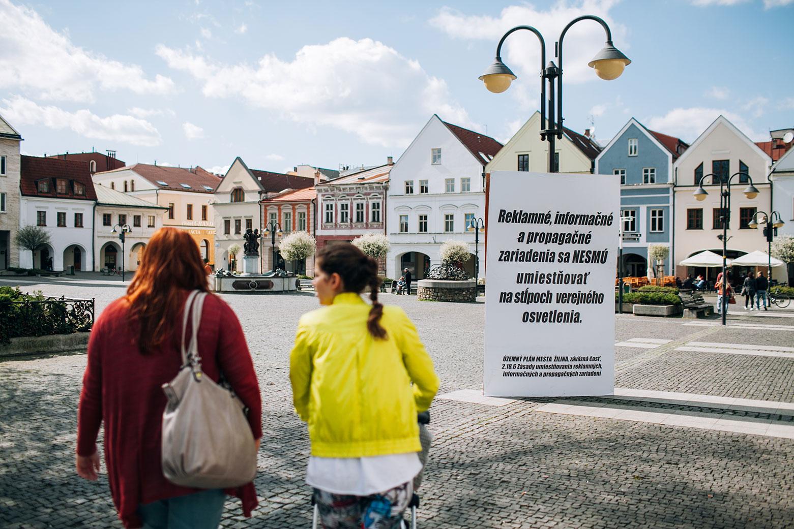 Predstavenie Manuálu reklamy + inštalácia vo verejnom priestore
