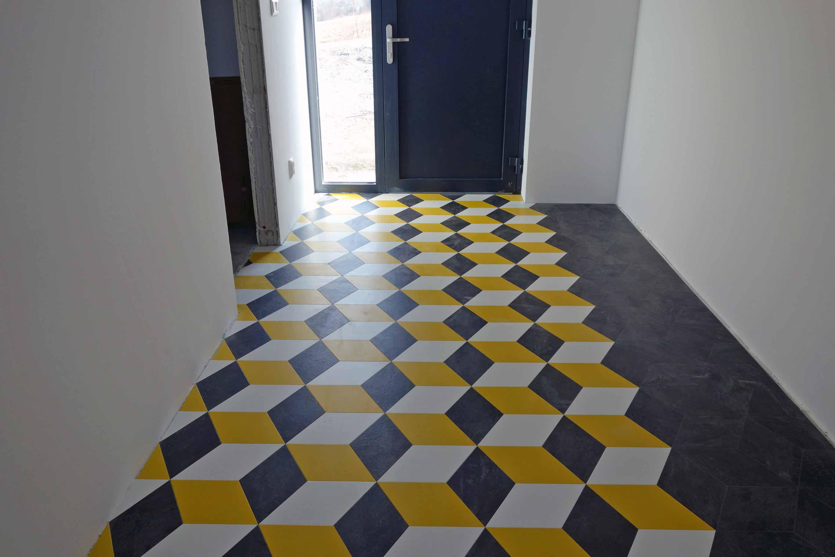 interiér rodinného domu_vinylová podlaha