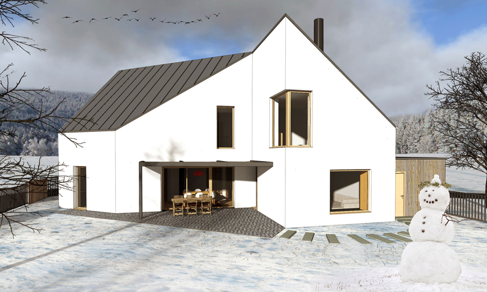 Rodinný dom, Višňové